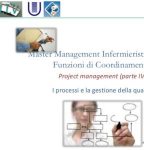 I processi e la gestione della qualità