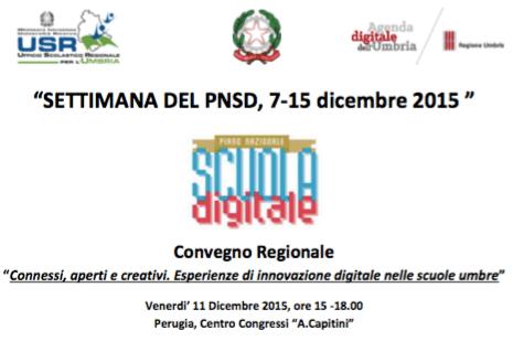 Convegno USR Umbria PNSD