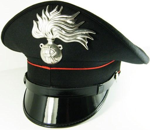 Un graduato dell'Arma a Germaneto