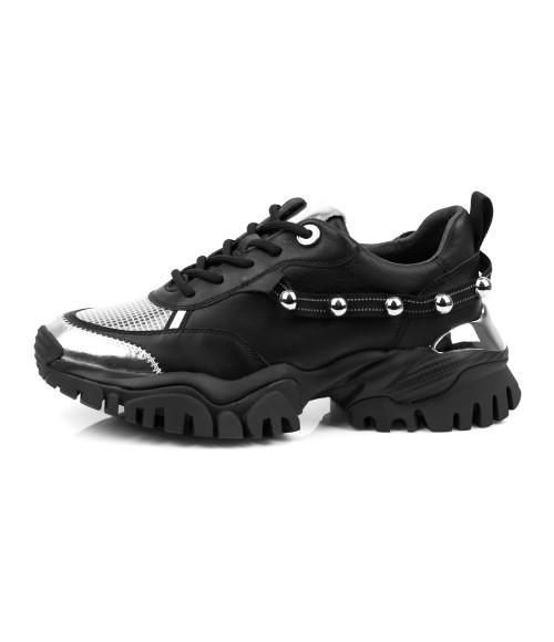 ᐈ Женские кожаные кроссовки Sasha Fabiani 27120 - купить в ...