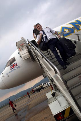 Ed Force One, l'avion d'Iron Maiden pilotŽ par Bruce Dickinson