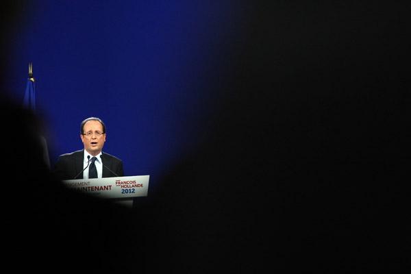 Premier grand meeting national de Franois Hollande (Parti Socialiste) - PrŽésidentielles 2012
