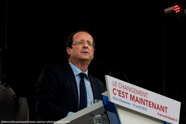 Grand Rassemblement de François Hollande - Esplanade du Château de Vincennes