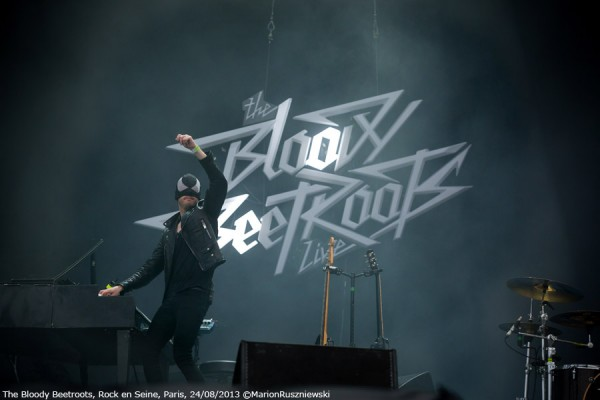 The Bloody Beetroots - Rock en Seine 2013