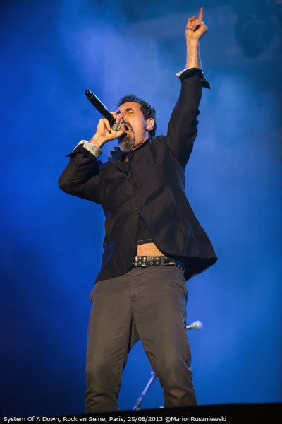 System Of A Down, Rock en Seine