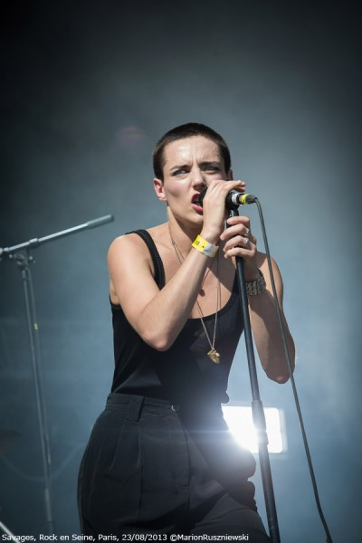 Savages, Rock en Seine