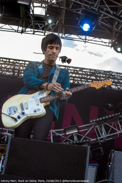 Johnny Marr, Rock en Seine