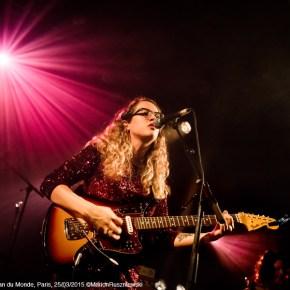 Courtney Barnett & Sallie Ford, LFSM, Le Divan du Monde, Paris, 25/03/2015