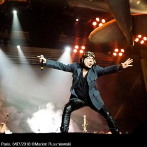 Iron Maiden, Bercy, Paris, 6/07/2018