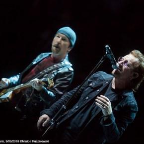 U2, AccorHotels Arena, Paris, 9/09/2018