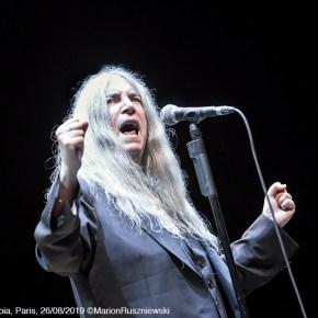 Patti Smith, L'Olympia, Paris, 26/08/2019