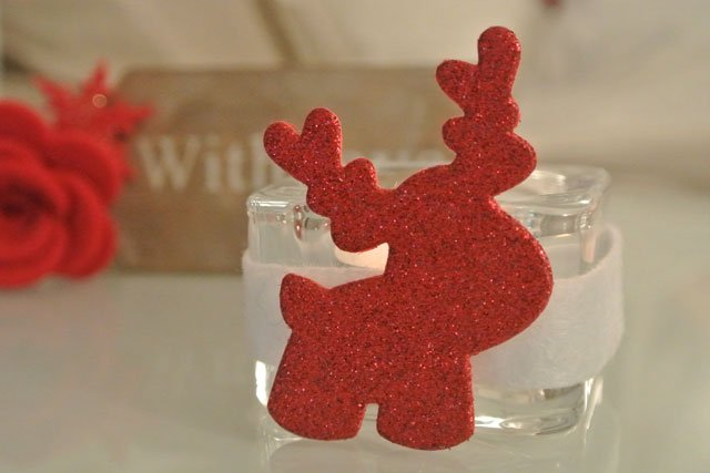 Natale portalumino renna