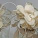 Lanterne Natale con fiori in feltro