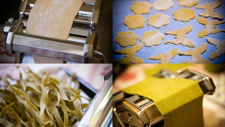 Home-made fresh pasta