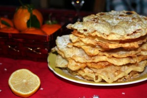 "Thin & crispy traditional sweet fritters from Aniane (""oreillettes"")"