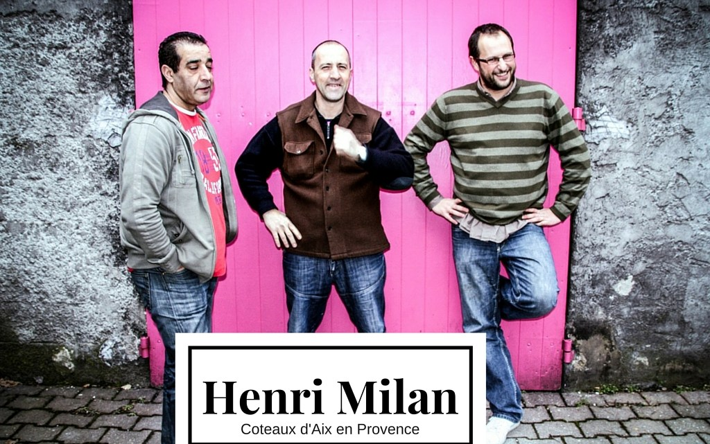 Portrait de vigneron : Henri Milan, Provence