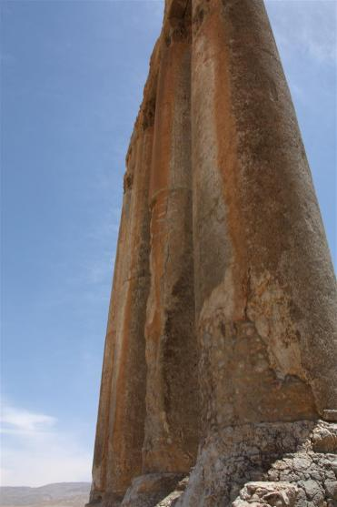 Photo of the Temple of Jupiter in Baalbek
