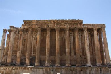 Photo of the Temple of Bacchus