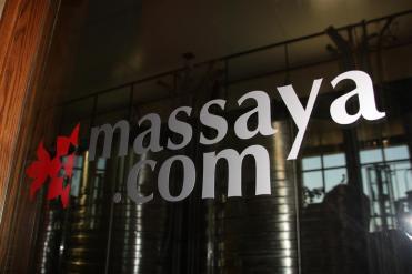 photo of the Massaya Winery signs