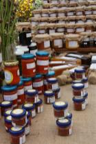 photo of some Food Jars in the Souk El Tayeb of Beirut