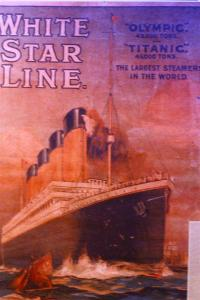 White Star Line Poster at the Maritime useum in Liverpool