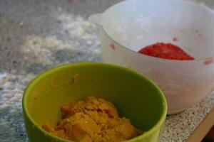 pâte à biscuit au citron
