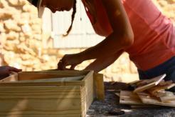 Photo de la Fabrication d'une cabane à insecte