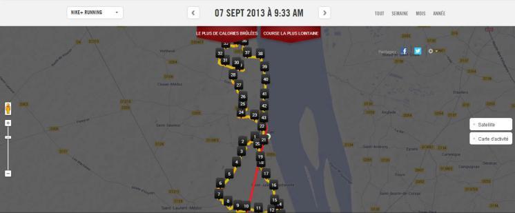 Détails du circuit du marathon du médoc 2013
