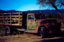 photo of an old truck
