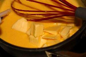 Photo de la purée de poire montée au beurre