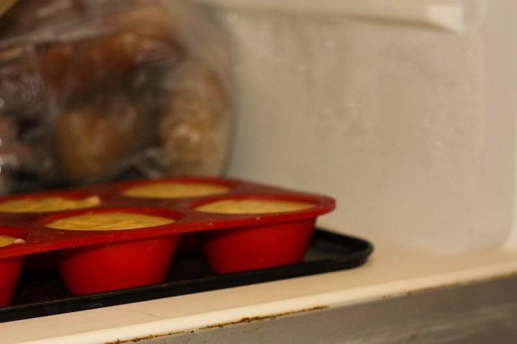 insert poire / pistache au congélateur