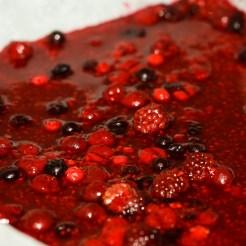 geleé aux fruits rouges à la gélatine