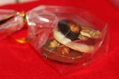 photo de mendiants aux trois chocolats