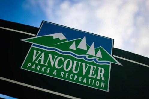VANCOUVER Parks & Recreation sign