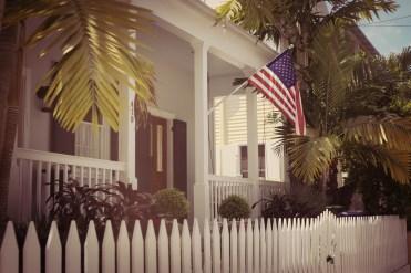 US Flag in Key West