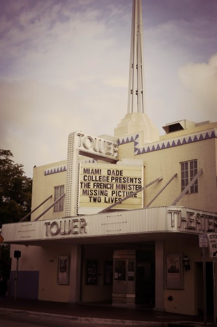 tpwer theatre in Little Havana, Miami