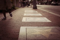 Walk of fame in Little Havana