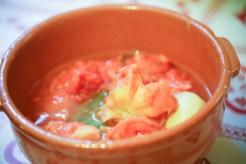 tomates cuites et mondées