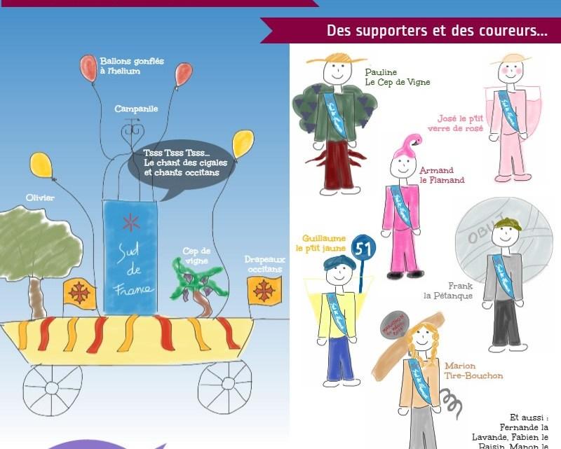 (Français) Projet pour le marathon du Médoc 2015 : l'équipe Sud de France