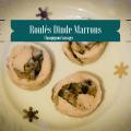 Roulés Dinde - Marrons - champignons sauvages