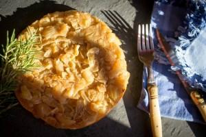 tarte tatin aux oignons caramelisés