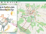 traces GPS Coup De Pied De La Mule