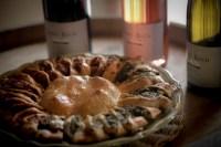 pizza soleil et vins de Lirac