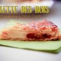 part de Galette des Rois Frangipane et Citron Confit