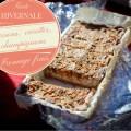 Tarte hivernale aux marrons, carottes, champignons et fromage frais