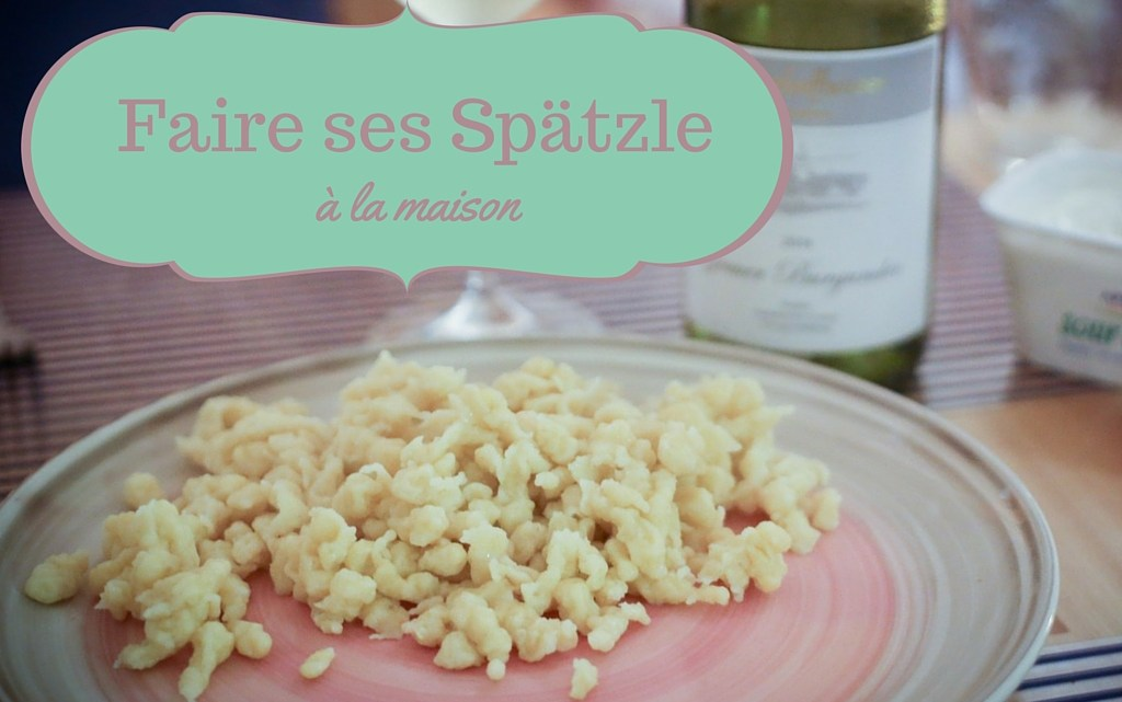 Making your own Spätzle at home (video inside)