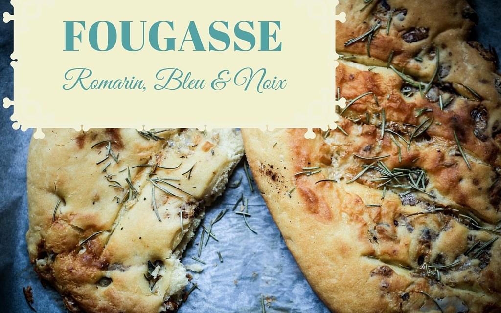 Fougasse provençale au bleu et aux noix