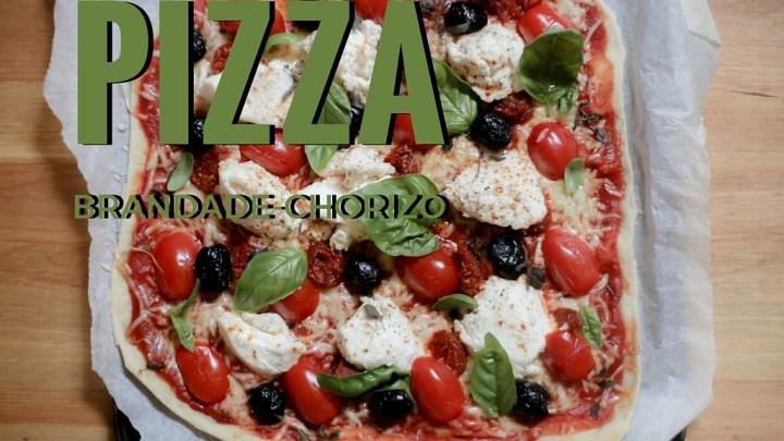 Brandade (Salt Cod mash) & Chorizo Pizza