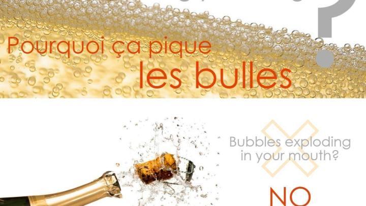Pourquoi ça pique les bulles ?