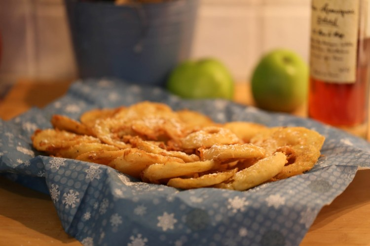 beignets aux pommes de mamie